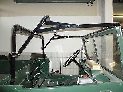 mogworld Unimog Verdeckgestänge Verdeckgestell hohe Scheibe U411