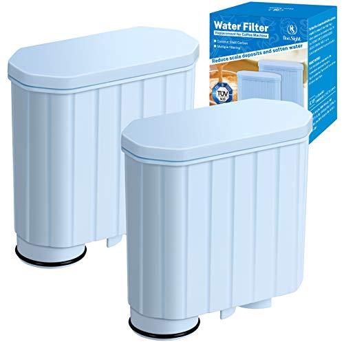 Wasserfilter für Philips Aqua Clean CA6903/22, Aktivkohleenthärter Kaffeefilter Kalkschutzfilter Kompatibel mit AquaClean Kaffeevollautomaten CA6903/00/01/99 (2er Pack)