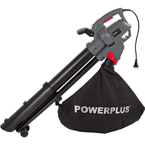 Soplador triturador de hojas 3300 W aspirador jardín terraza control electrónico Velocidad 270 km/h