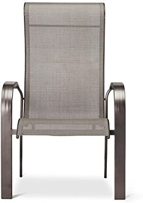 Amazon Com Atlantic Bari Stackable Chairs 4 Pack