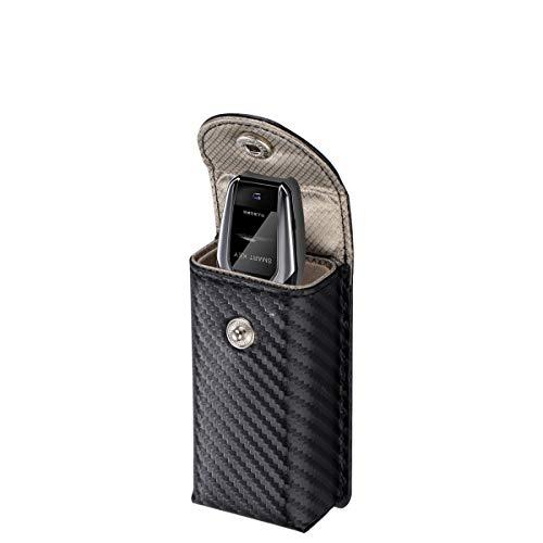 MONOJOY Keyless Go Schutz Autoschlüssel, RFID Keyless Go Schutz Autoschlüssel Funkschlüssel Abschirmung Auto Blocker Faraday Schlüsseltasche Strahlenschutz Keyless Go Schutzhülle (Kohlenschwarz)