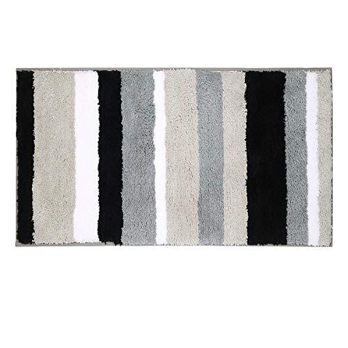 tappeto bagno 50x150 Pauwer - Tappeto Antiscivolo e Anti Muffa per Bagno e Doccia