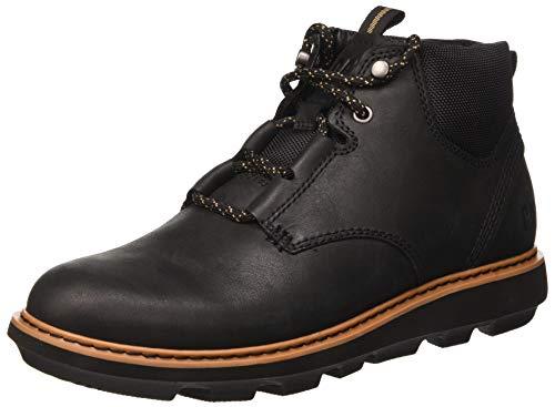Cat Footwear Brusk Lace, Botas Chukka Hombre, Negro (Black Black), 43 EU