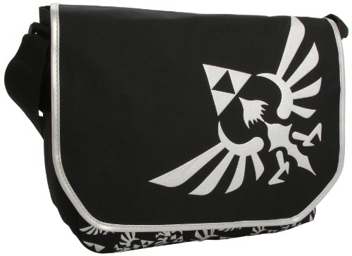 Bioworld Legend of Zelda Messenger Bag Standard Black