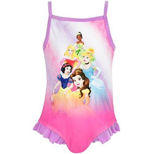 Disney Principesse Costume da Bagno Ragazza Princess - 18-24 Mesi
