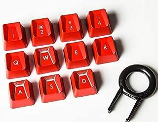 مناسبة لـ Romer-G Switch Logitech G310 G413 G613 G810 K840 G910 لوحة مفاتيح ميكانيكية الأداء (أحمر 11 مفتاح)