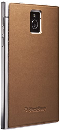 BlackBerry Leather Flip Case for Passport - Tan