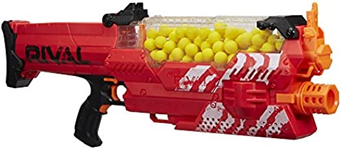 Nerf Rival Nemesis MXVII-10K, Red (Amazon Exclusive), Frustration-Free Packaging