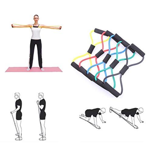 Kloius 1Pcs Fitness Yoga Latex Resistance Band Banda de Ejercicio