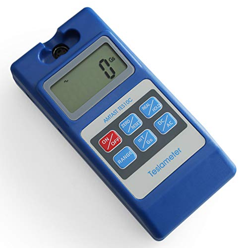 AMTAST Tesla Tester Gauss Meter Surface Magnetic Field Testers with Ns...