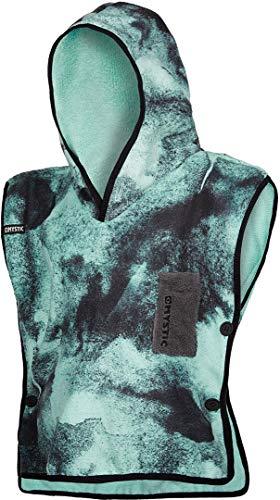 Mystic Kids Poncho of Changing Robe Handdoek voor Beach Watersport & Surfen - Change Robe - Black Mint - Unisex