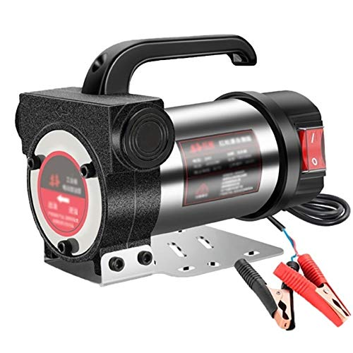 Bomba De Aceite De Aspiracion, Bomba De Transferencia Diesel, Extractor De Bomba De Aceite 12V / 24V / 220V, Bomba Gasoil Diesel para Excavadoras De Reabastecimiento De Combustible
