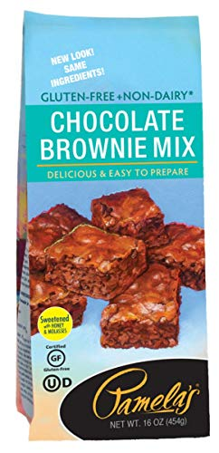Pamela's Products Irresistible Chocolate Brownie Mix 16 oz (Pack of 3)