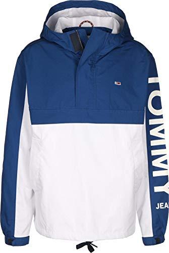 Hilfiger Denim Herren TJM GRAPHIC POPOVER Jacke, Blau (Limoges/Classic White 434), Herstellergröße: XX-Large