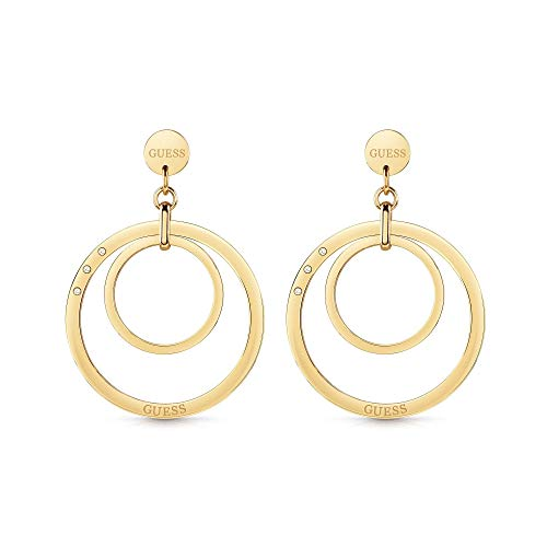Guess Damen-Ohrhänger HOOPS CIRCLES Edelstahl One Size 87859282