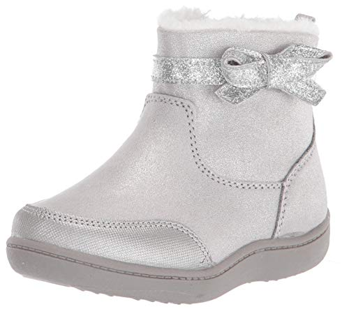 Stride Rite Girl s Elaine Fashion Boot, Champagne, 7 M US Toddler