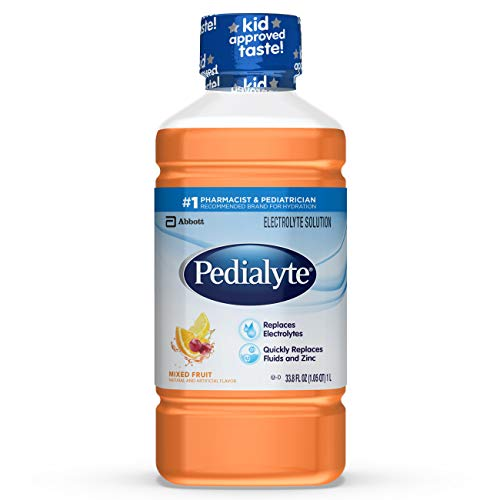 Price comparison product image Pedialyte Electrolyte Solution,  Hydration Drink,  Mixed Fruit,  1 Liter