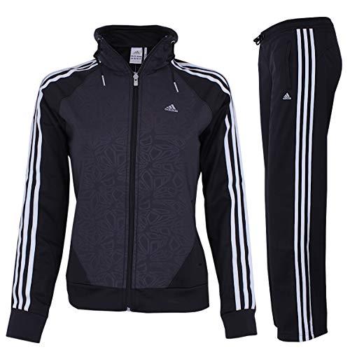 adidas Trainingsanzug CLIMA KNIT SUIT schwarz, Größe:38