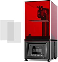 ELEGOO Mars 2 Pro 3D Printer, 2K Mono MSLA UV Photocuring Resin LCD 3D Printer Front USB Input 2K Monochrome LCD 5.1x3.1x6.3inch Printing Size