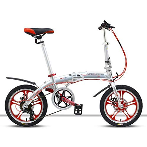 Buy Bargain Gaoyanhang Ultra Light Full Aluminum Alloy Folding Bike Bicycle 16 with 6 Speed Double ...