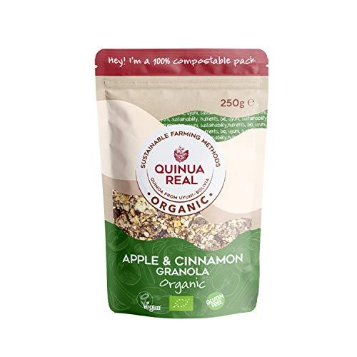Granola de quinoa real con manzana y canela sin gluten BIO - Quinua Real - 250g