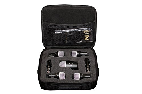 CAD Audio Stage7 7 Piece Drum Mic Pack - Includes Kick Mic, Snare Mic, 3 Tom Mics and...
