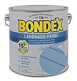Bondex Landhaus-Farbe 2,50l taubenblau - 391309