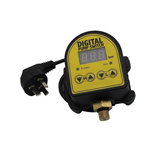 Digitaler Pumpenschalter, 220V, Druckkontrolle, für Haushaltspumpe, elektrisch (eventuell nicht mit europäischem Stecker)