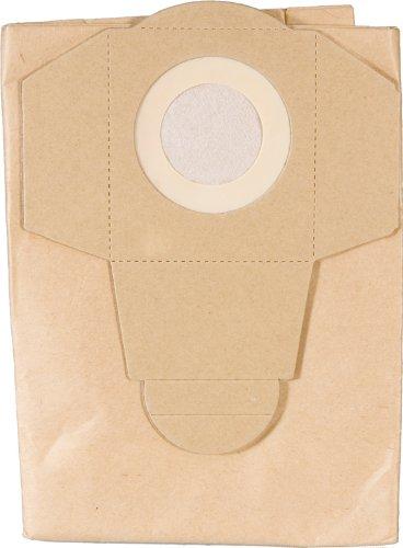 Paquete de 5 bolsas de 30 l de extractor de polvo y vacío industrial, 2 unidades