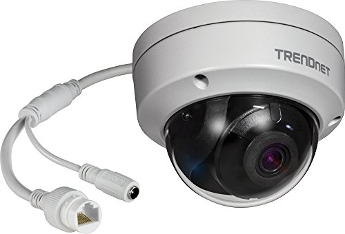 TRENDnet TV-IP1319PI Indoor/Outdoor 8MP PoE Dome Netzwerk Kamera, Nachtsicht bis zu 30 M (98 ft.), IP67