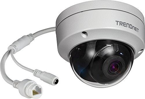 TRENDnet, TV-IP1319PI, cámara de Red Domo PoE de 8 MP, visión Nocturna hasta 30 m, IP67