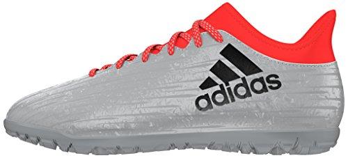adidas X 16.3 Tf, Scarpe da Calcio Uomo, Argento, 47 1/3 EU