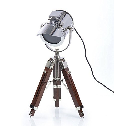 Lámpara de mesa, diseño naútico vintage