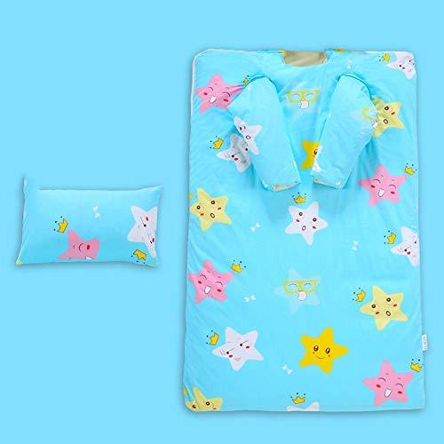 Winter baby a voetbal, slaapzak voor kinderen, dikke dekbed voor herfst en winter, voor kinderen, bescherming tegen mijt