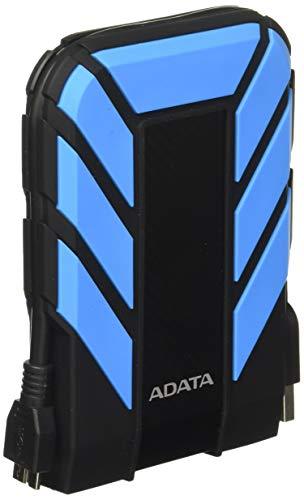 Adata AHD710P-2TU31-CBL Disco Duro Externo Portátil HD710 Pro Resistente a Golpes, protección contra…