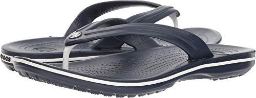 Crocs Crocband Flip, Zapatos de Playa y Piscinanisex Adulto, Azul (Navy 002)