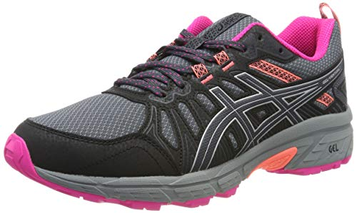 ASICS Damen Gel-Venture 7 Running Shoe, Carrier Grey/Silver, 40.5 EU