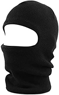 ca0b096f53348 THE HAT DEPOT Made in USA Unisex Thick and Long Face Ski Mask Winter Beanie