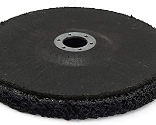 DZF697 1pc 100mm / 4 Pouces Poly Bande de Roue Peinture Dérouillant 6mm Shank Clean Meuleuses Disques Outils abrasifs