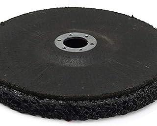 CROSYO 1pc 100mm / 4 Pouces Poly Bande de Roue Peinture Dérouillant 6mm Shank Clean Meuleuses Disques Outils abrasifs