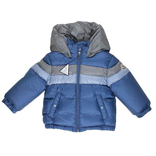Moncler Daunenjacke Rogatien - blau/grau, Größe:18 Monate / 86