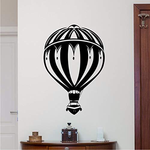 Etiqueta de la pared globo de aire etiqueta de la pared dormitorio cartel de la pared guardería habitación de los niños decoración globo de aire calcomanía 57X83CM