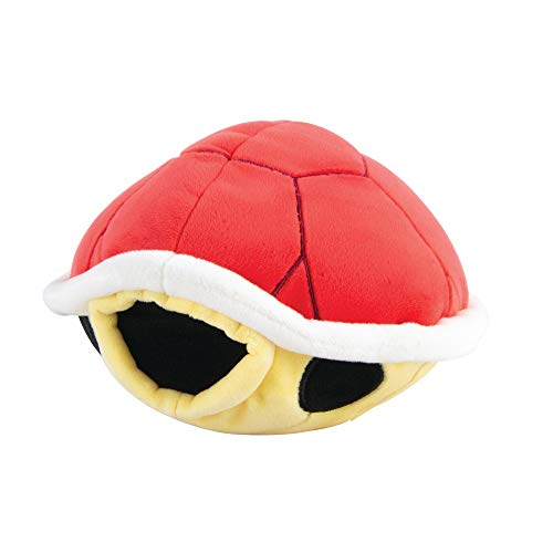 Club Mocchi Mocchi Nintendo Mario Kart Red Shell Plush Stuffed Toy, 6-Inch (T12702)