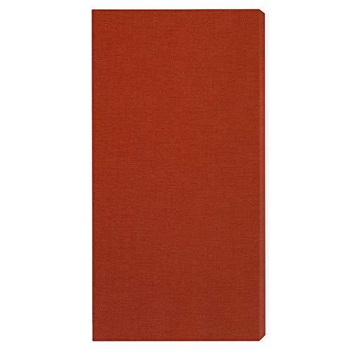 Panneau acoustique'Brushed Pro M': 116 * 58 * 6.5cm, Orange Foncé