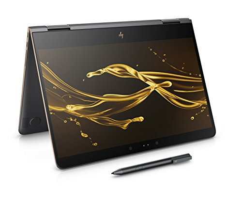 HP Spectre x360 Convertible Laptop with Stylus (13.3 inch, Ultra HD, Touch-Screen, Intel Core i7-7500U, 16 GB RAM, 1 TB SSD, Windows 10) - Dark Ash Silver
