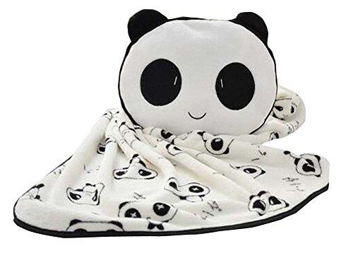 Mignon Panda doux molleton enfants Blanket Bureau Blanket 75 * 140 CM