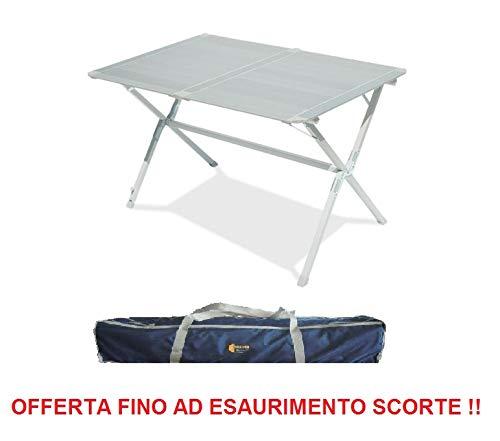 Altasi tafel voor camping model 120 x 80 cm met tas voor het vervoer ideaal voor maximaal 4 personen