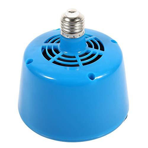 Bombilla de luz de calor impermeable para calentamiento grueso de calor 220 V sin bombilla para cerdo, cerdo, cerdo, cerdo, mascota, gallina, pato, calentador solar, luz azul