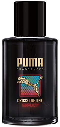 Puma Eau de toilette natuurlijke spray verstuiver Cross The Line Explicit, 50 milliliter