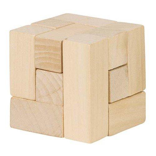 Goki The Cube avec 3d pièces puzzle